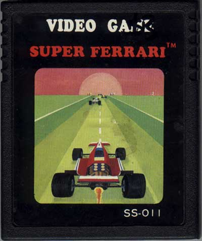 Super Ferrari - Cartridge Scan