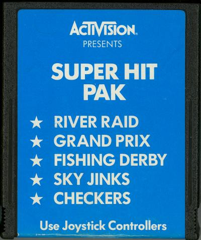 Super Hit Pak - Cartridge Scan