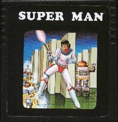 Super Man - Cartridge Scan
