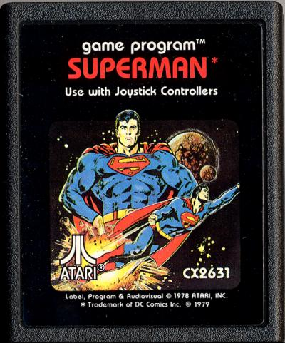 Superman - Cartridge Scan