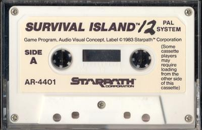 Survival Island - Cartridge Scan