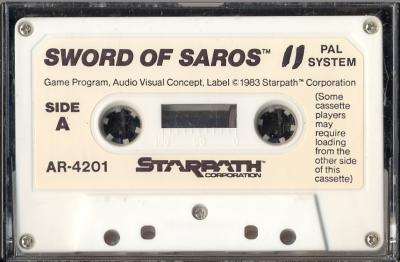 Sword of Saros - Cartridge Scan