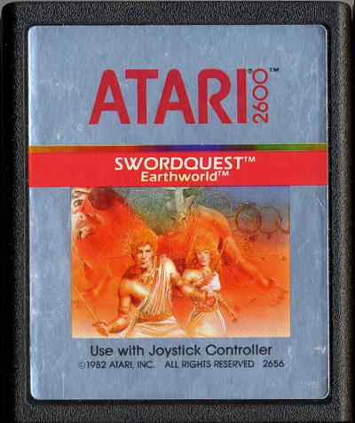 Swordquest: Earthworld - Cartridge Scan