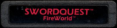 Swordquest: Fireworld - Cartridge Scan