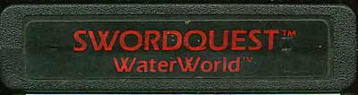 Swordquest: Waterworld - Cartridge Scan
