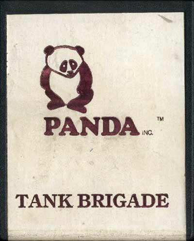 Tank Brigade - Cartridge Scan