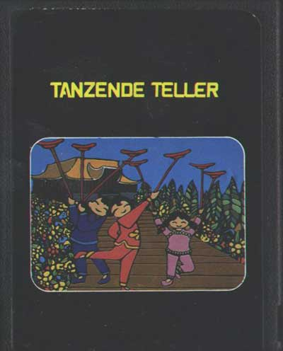 Tanzende Teller - Cartridge Scan