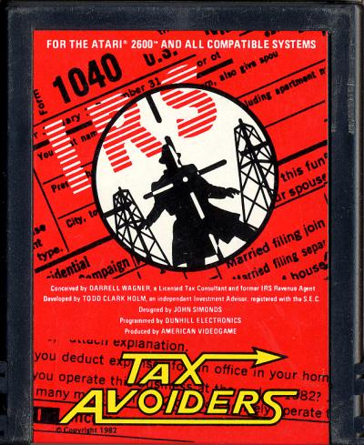 Tax Avoiders - Cartridge Scan