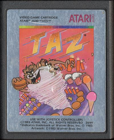 Taz - Cartridge Scan