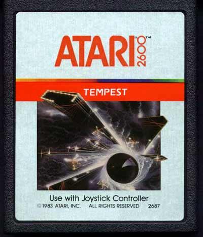 Atariage Atari 2600 Cartridge Scans Tempest Atari