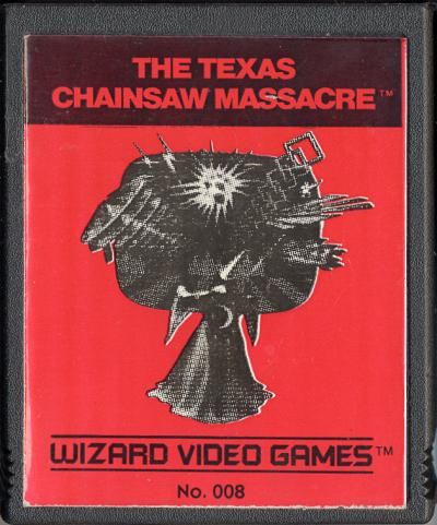 Texas Chainsaw Massacre - Cartridge Scan