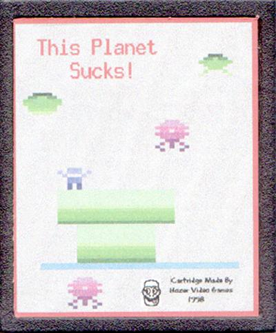 This Planet Sucks - Cartridge Scan