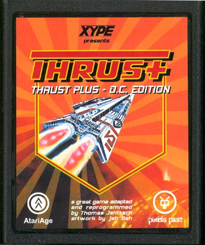 Thrust+ DC Edition - Cartridge Scan