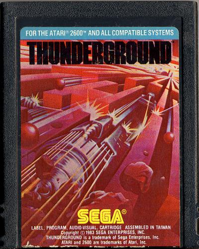 Thunderground - Cartridge Scan