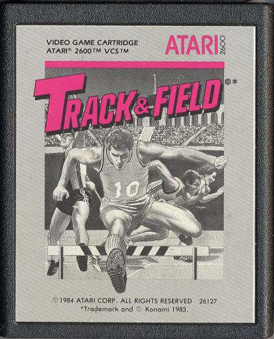 Track & Field - Cartridge Scan