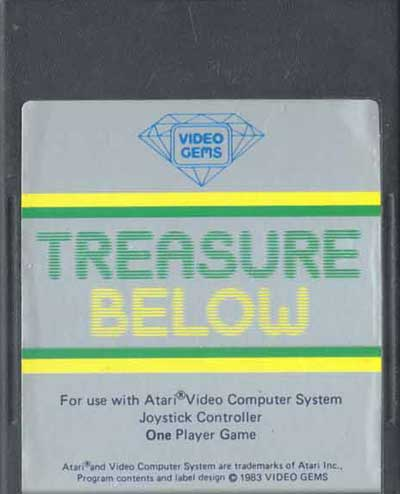 Treasure Below - Cartridge Scan