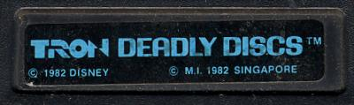 Tron: Deadly Discs - Cartridge Scan