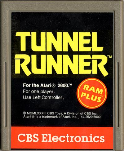 Tunnel Runner - Cartridge Scan