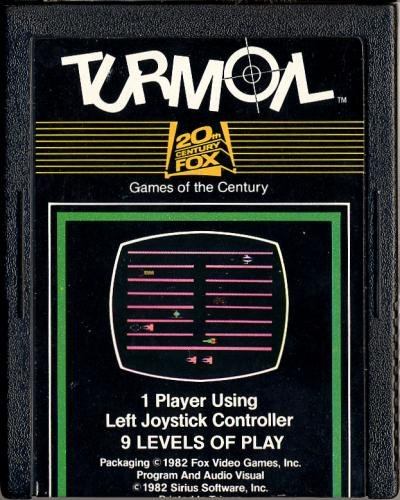 Turmoil - Cartridge Scan