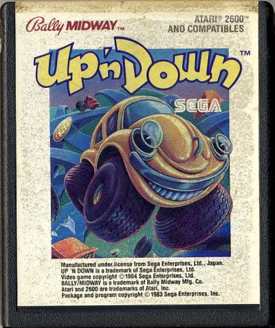 Up n' Down - Cartridge Scan