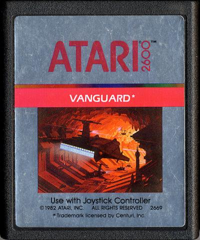 Vanguard - Cartridge Scan