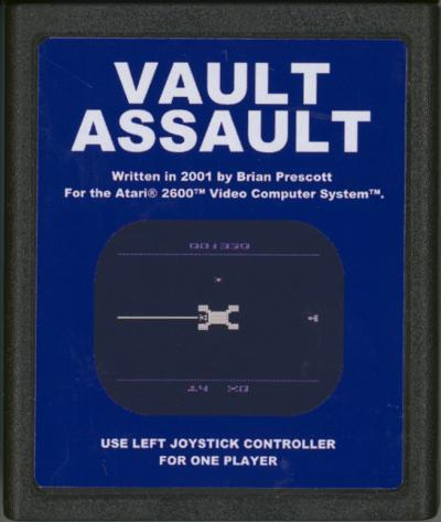 Vault Assault - Cartridge Scan