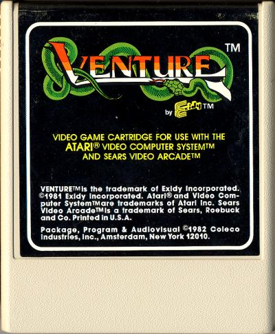 Venture - Cartridge Scan