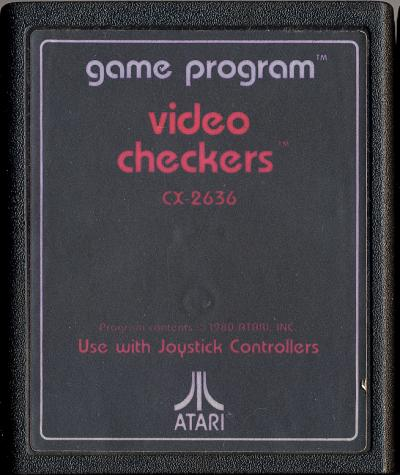 Video Checkers - Cartridge Scan