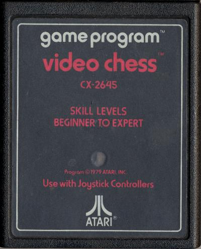 Video Chess - Cartridge Scan