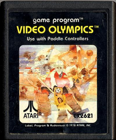 Video Olympics - Cartridge Scan