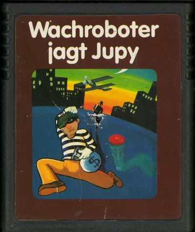 Wachroboter Jagt Jupy - Cartridge Scan