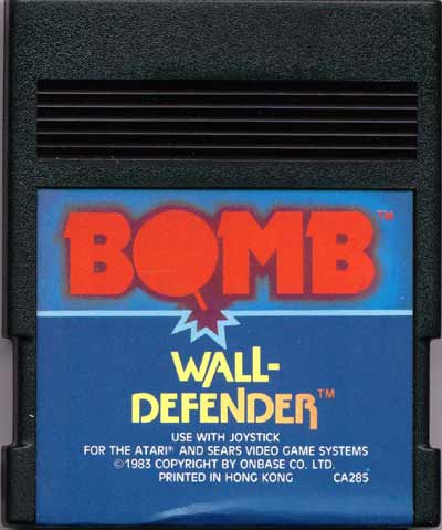 Wall Defender - Cartridge Scan