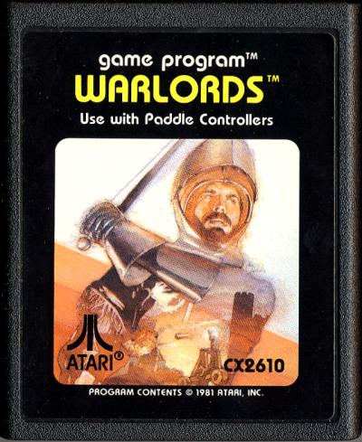 Warlords - Cartridge Scan