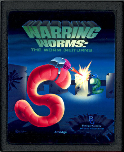 Warring Worms: The Worm (Re)Turns - Cartridge Scan
