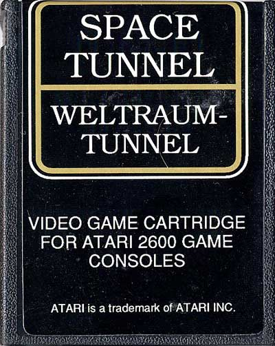 Weltraum-Tunnel - Cartridge Scan