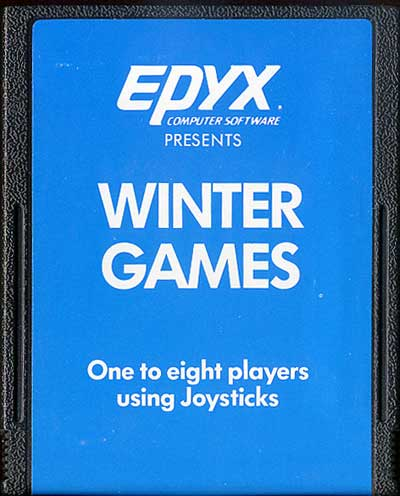 Winter Games - Cartridge Scan