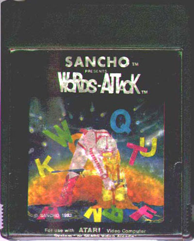 Words-Attack - Cartridge Scan