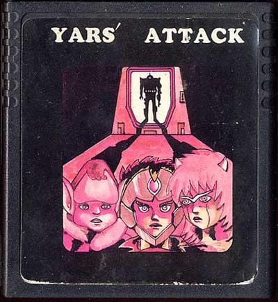 Yars' Attack - Cartridge Scan