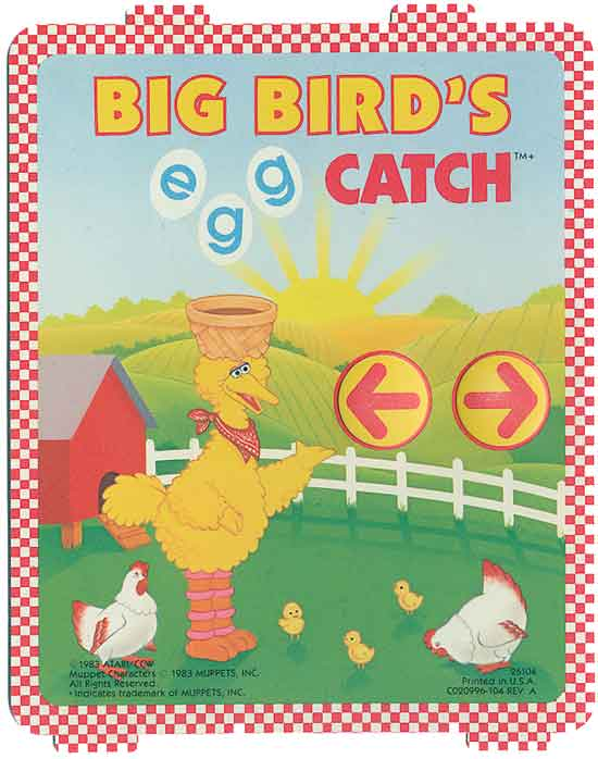 Big Bird's Egg Catch - Overlay