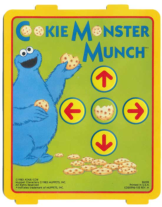 Cookie Monster Munch - Overlay