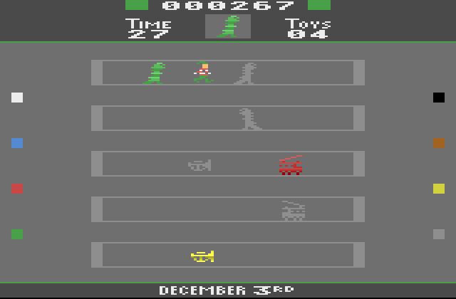 2006 AtariAge Holiday Cart: Toyshop Trouble - Screenshot