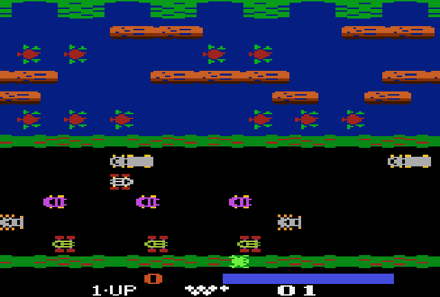 Frogger, The Official - Screenshot