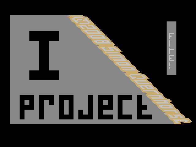 I Project - Screenshot