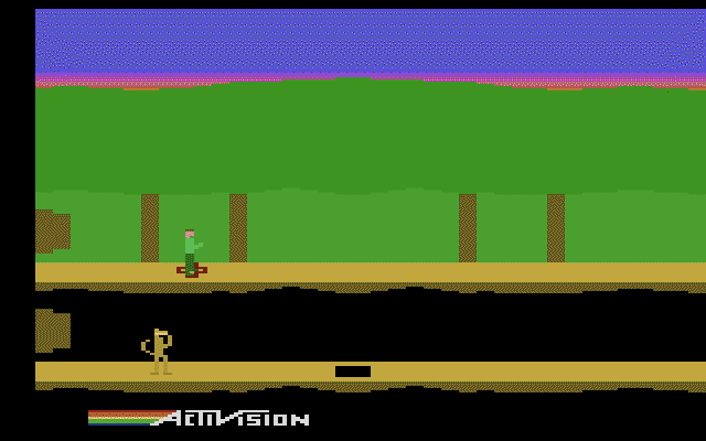 Pitfall II: Lost Caverns - Screenshot