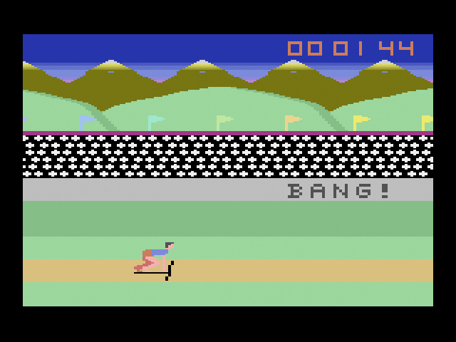 Sweat: The Decathlon Game - Screenshot