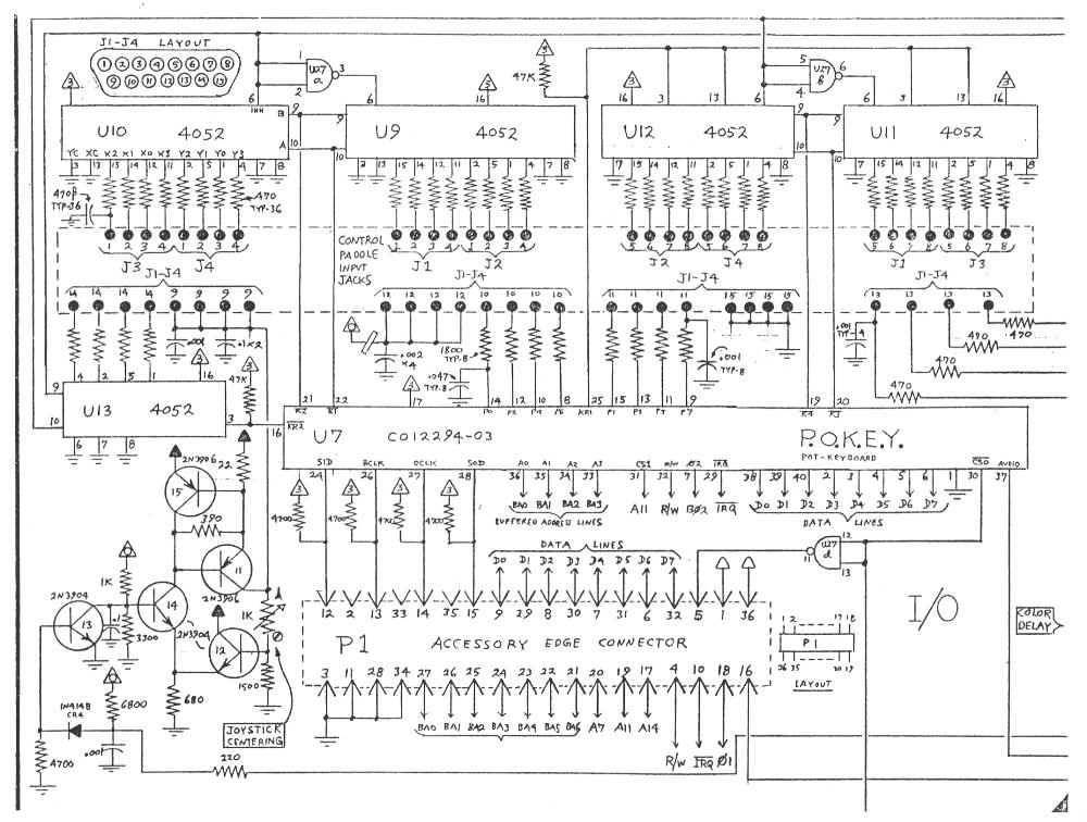 AtariAge - Atari 5200 Schematics