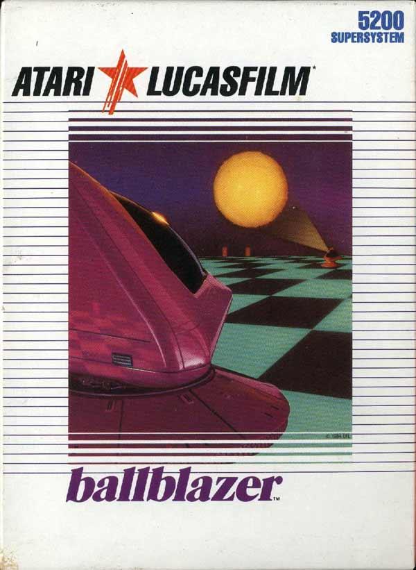 Ballblazer - Box Front