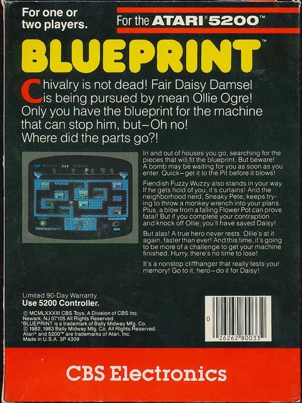 Blueprint - Box Back