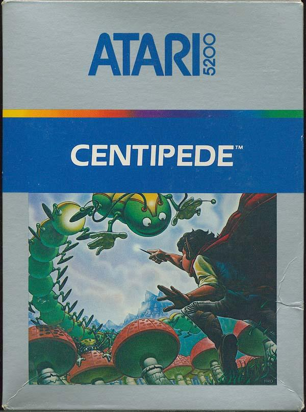 Centipede - Box Front