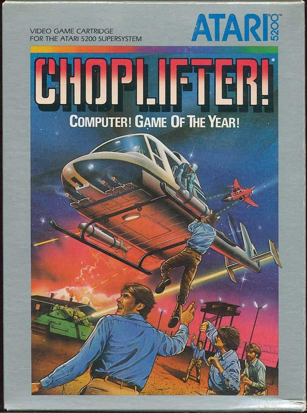 Choplifter! - Box Front